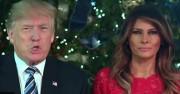 Президентът Тръмп с реч за Рождество и кръста